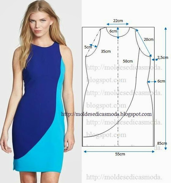 Женские платья выкройка и