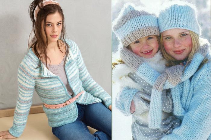 Зимнее вязание для женщин