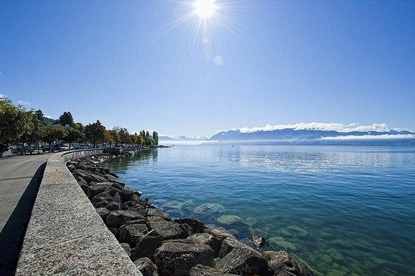 Озеро Леман (Женевское озеро)