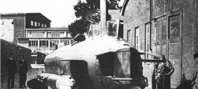 «Морской черт»: что стало с подводным танком Гитлера