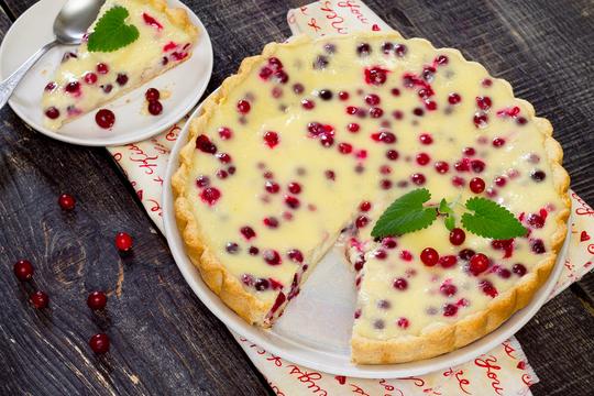 Пирог «Клюквенная идиллия»