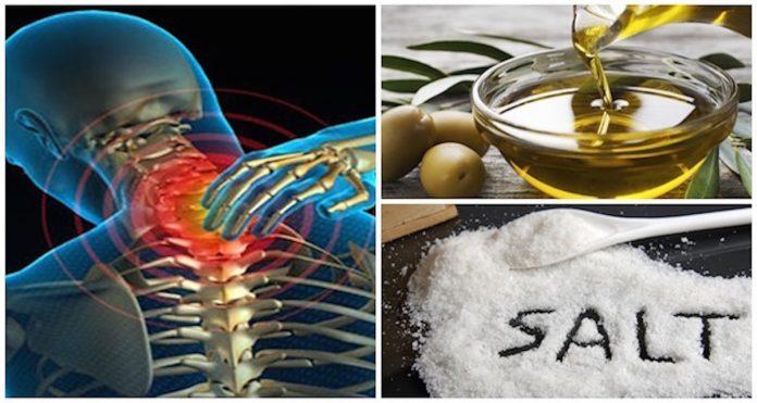Смешайте немного соли и оливкового масла, и вы не будете чувствовать боль в течение следующих 5 лет