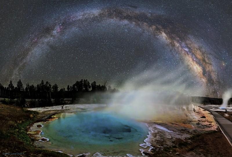Звездная арка. Блистательная дуга Млечного Пути на астрофотографиях Дэйва Лейна