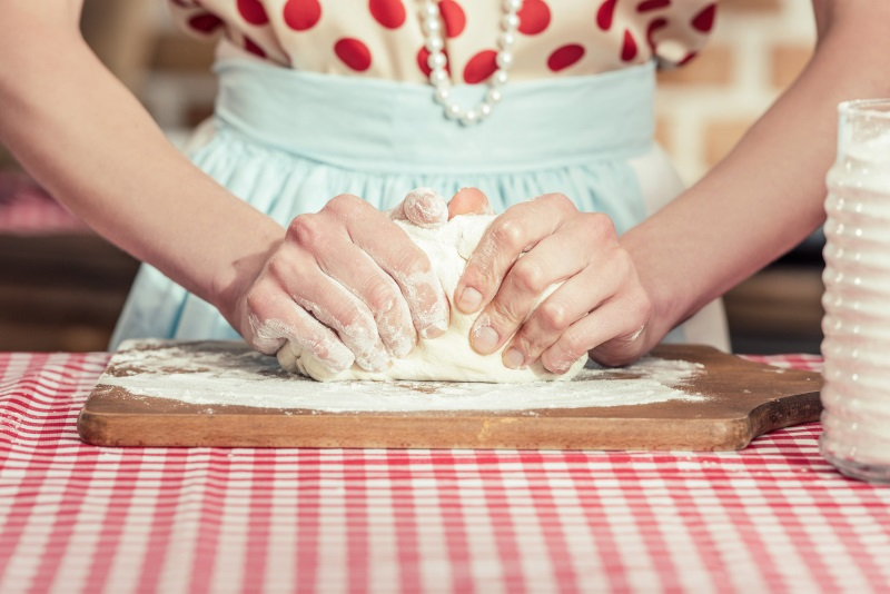 тонкое тесто на чебуреки
