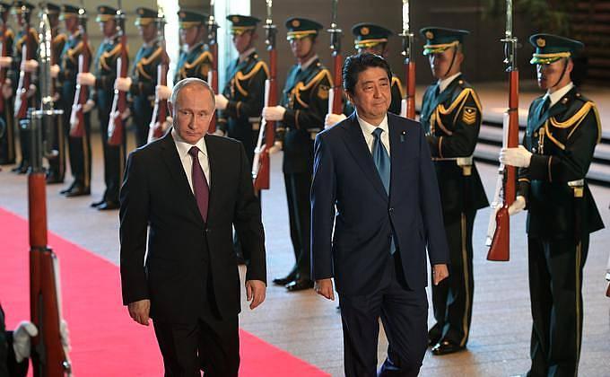 Заявления президента России по Курилам после встречи с японским премьером