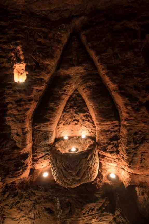 700 лет кроличья нора скрывала за собой вход в пещеру тамплиеров
