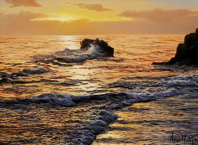 Морской пейзаж - Alfredo Navarro Montllor