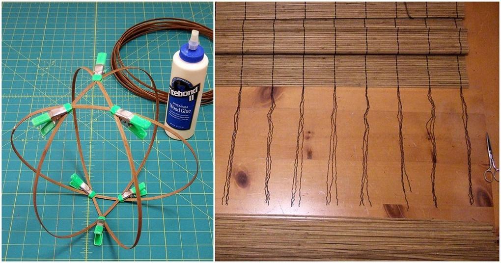 Нестандартное применение бамбуковых ковриков