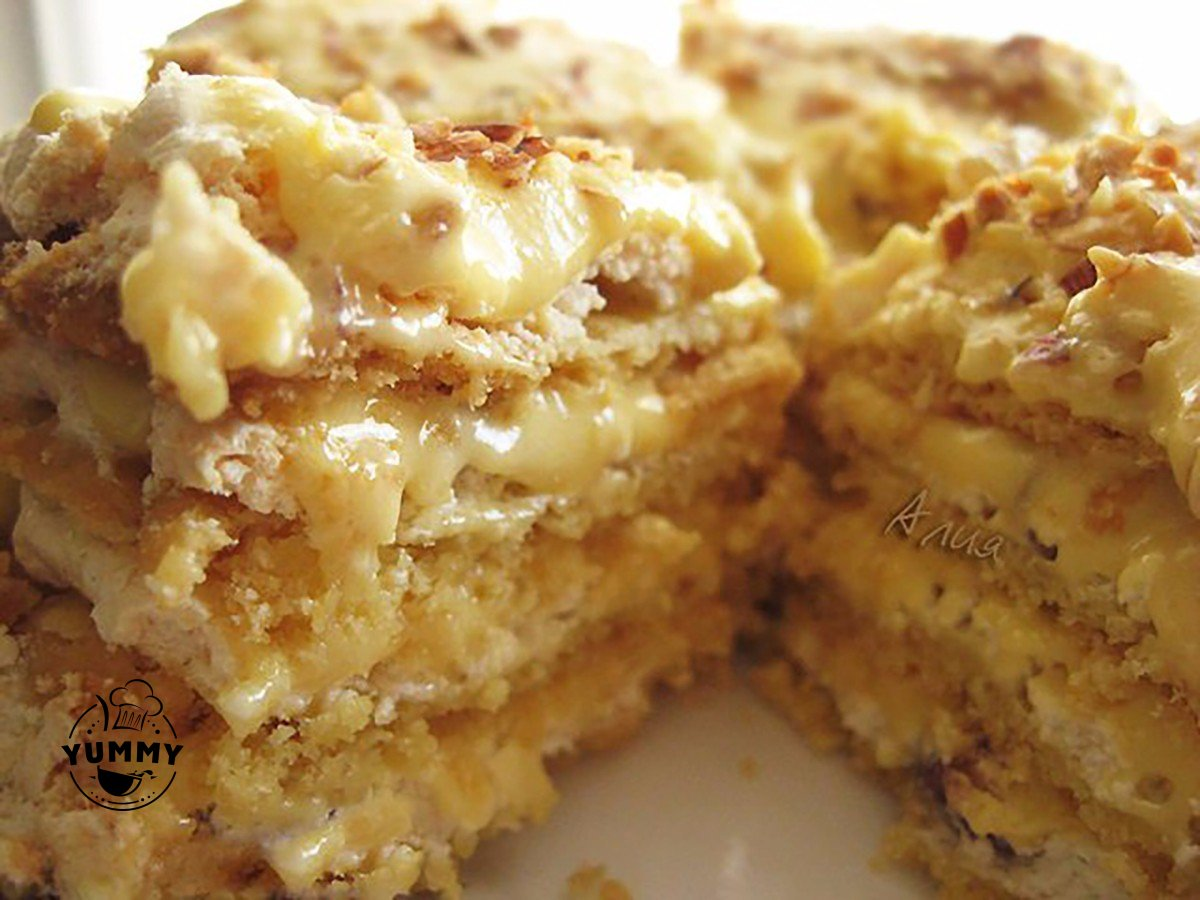 Торт марсель рецепт с фото пошагово