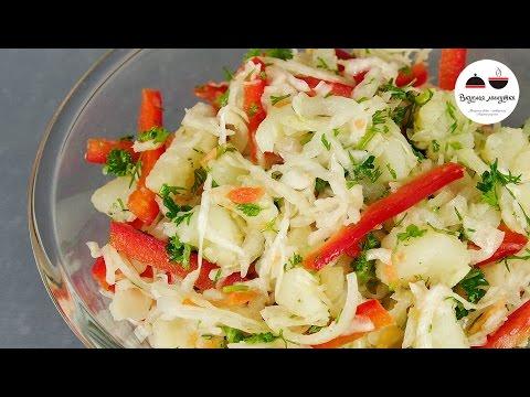Быстрые и вкусные рецепты салатов с простые
