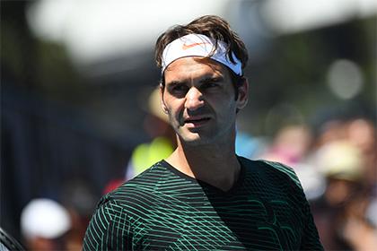 Федерер стал первым финалистом Australian Open