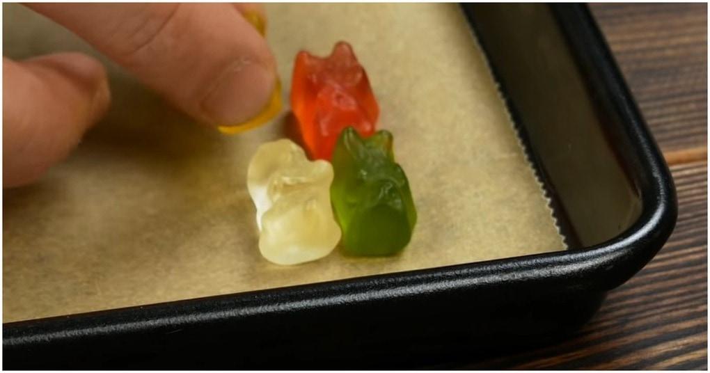 Чрезвычайно интересные способы использования желейных мишек