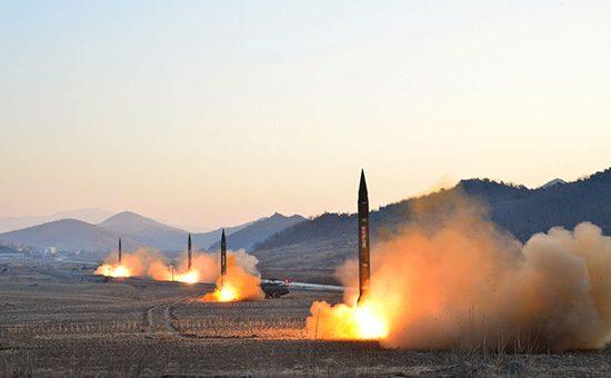 КНДР произвела неудачный пуск ракеты