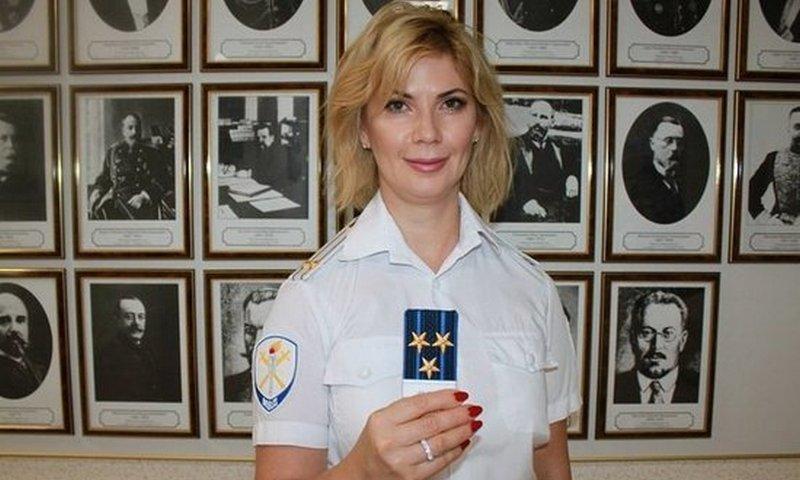 Полковник МВД Вера Рабинович…