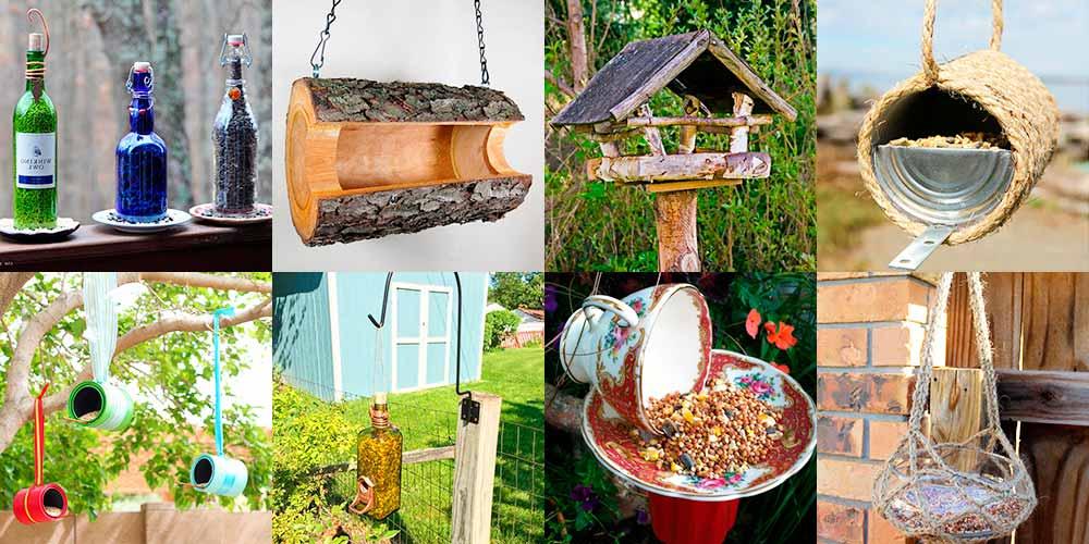 Как сделать необычную кормушку для птиц