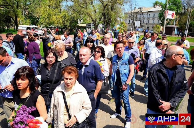 Срочно: Одесситов, собравшихся почтить память жертв Одесской хатыни вытесняют с Куликова поля