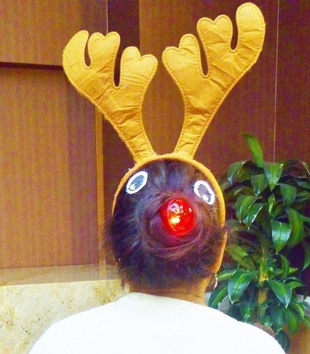 27. Олененок Рудольф волосы, праздник, прическа, рождество