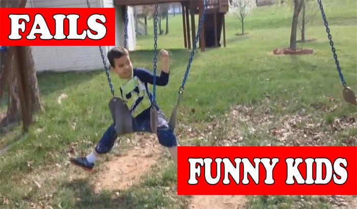 Приколы и фейлы с детьми (Kids Fails Club)