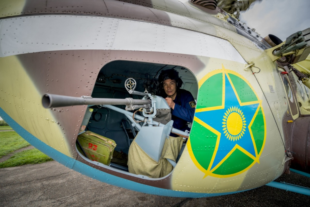 """""""Бедро хищника"""": на чём летают казахстанские пограничники"""