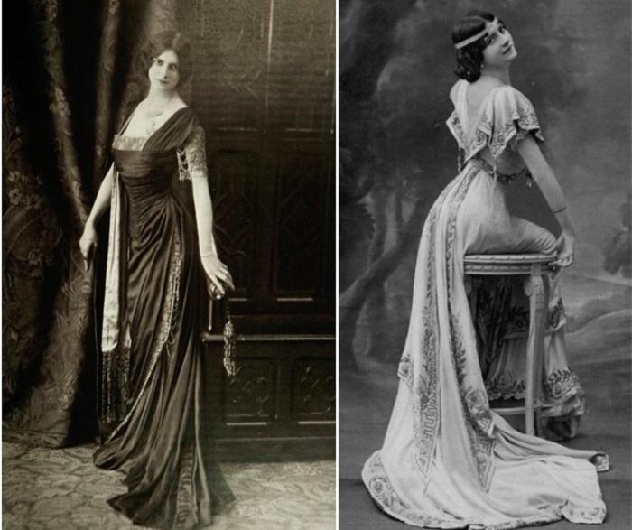 Стройные силуэты девушек начала 20 века.