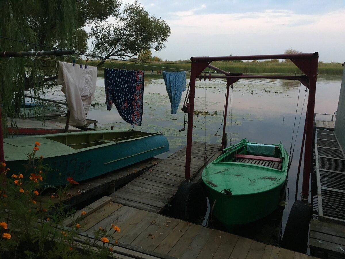 Удивительно фотогеничные пристани поселка Рыбачий, Воронежская область