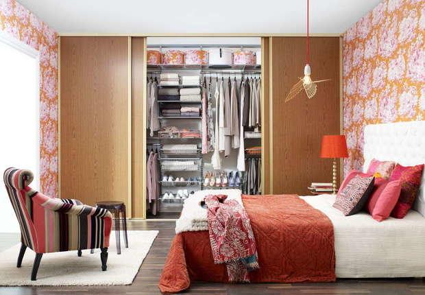 Фотография: Спальня в стиле Эклектика, Гардеробная, Советы, Анна Русскина – фото на InMyRoom.ru