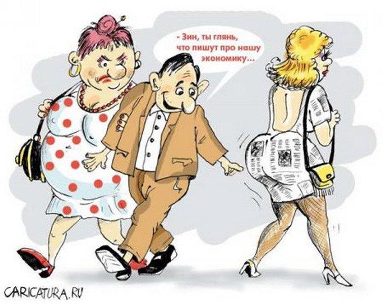 Неудачные романы супругов на стороне... Улыбнемся)))