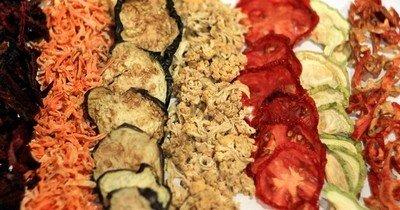 Сушка овощей - способ сохранить урожай и витамины