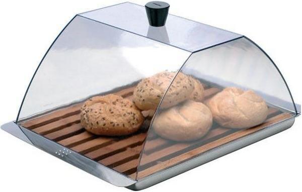 Стеклянная хлебница для дома