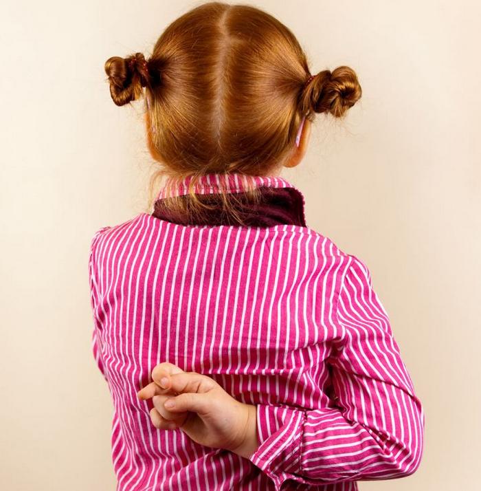 Как справиться с детской ложью