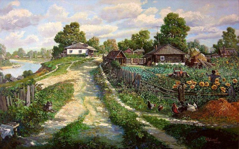 Как я уехал из Москвы в деревню. Чего и Вам желаю