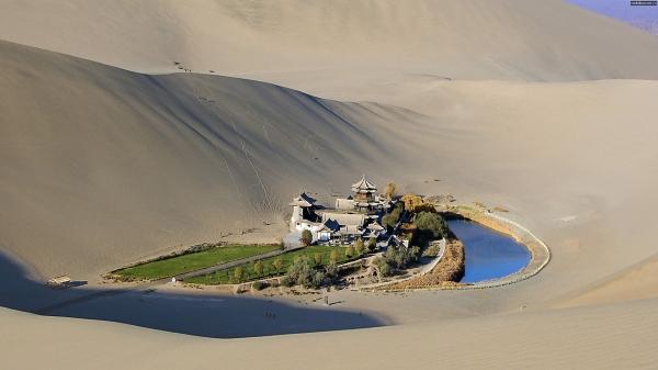 Вода в пустыне (притча)