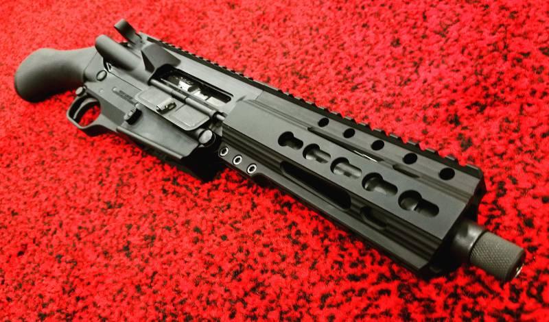 """Обрез"" из винтовки вместо пистолета - Fightlite Raider"