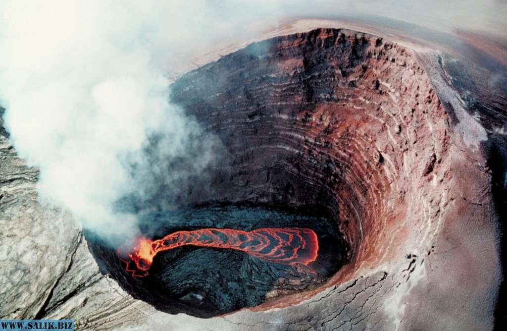 Что происходит внутри вулканов?