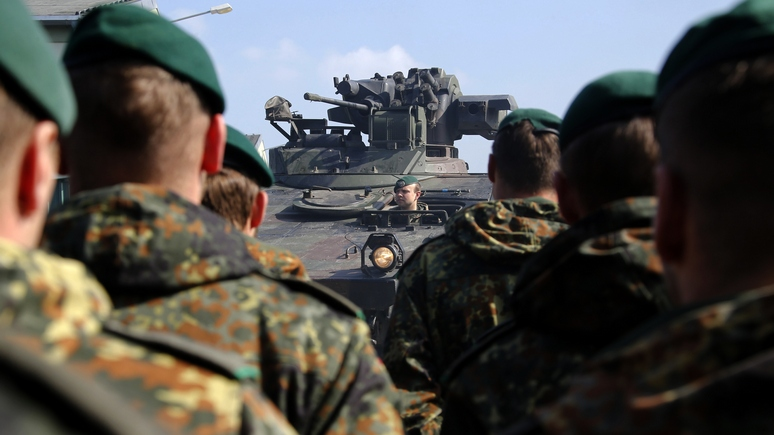 Contra Magazin: немцам не позволят свернуть с курса на новую войну с русскими