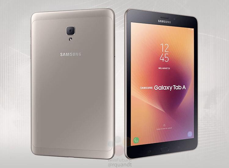 Опубликованы характеристики и рендеры планшета Samsung Galaxy Tab A2 S