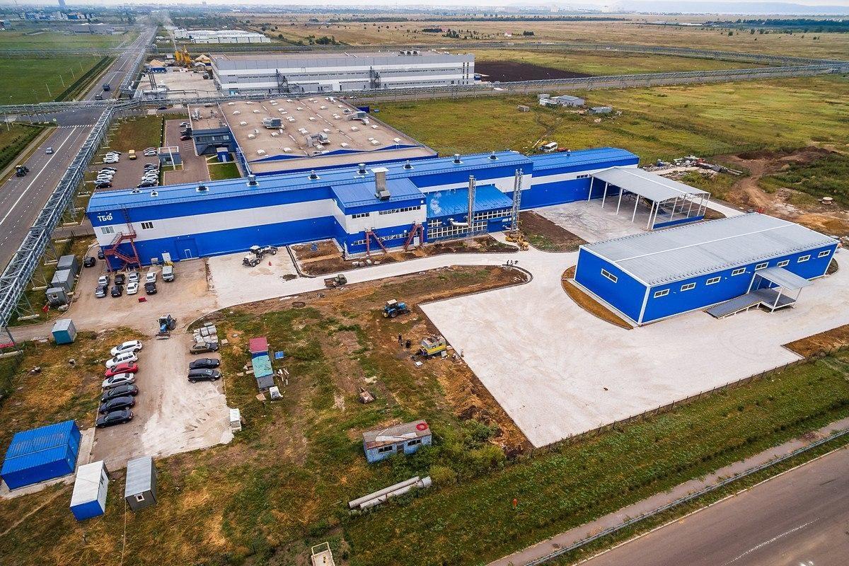 Запущен второй этап инфраструктуры ОЭЗ «Тольятти»