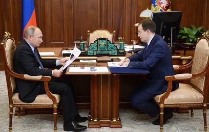 Путин обсудил с Мединским развитие культурных объектов в регионах