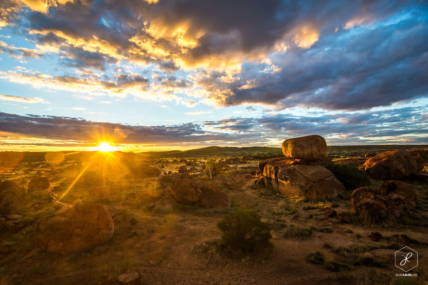 JohanLolos08 Захватывающие фотографии путешественника, проехавшего более 40 000 км по Австралии