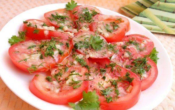 Вкуснейшие, ароматнейшие маринованные помидоры за 30 минут