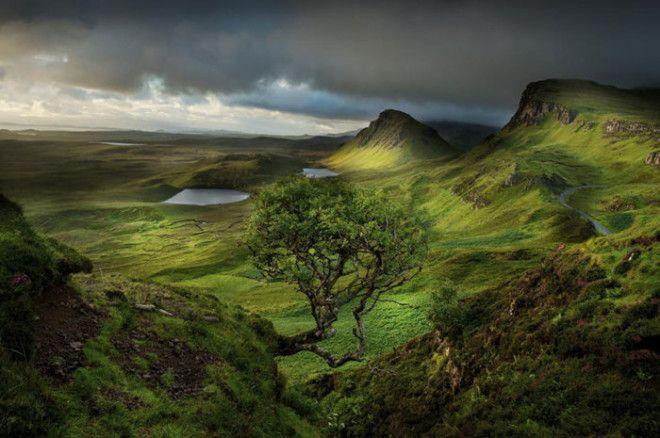 Завораживающая природа Шотландии