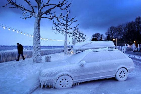 Самые холодные города в России