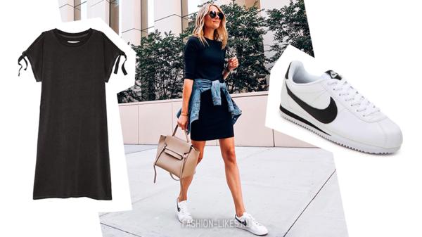 Эти 5 образов научат носить белые кроссовки так, чтобы все вокруг завидовали