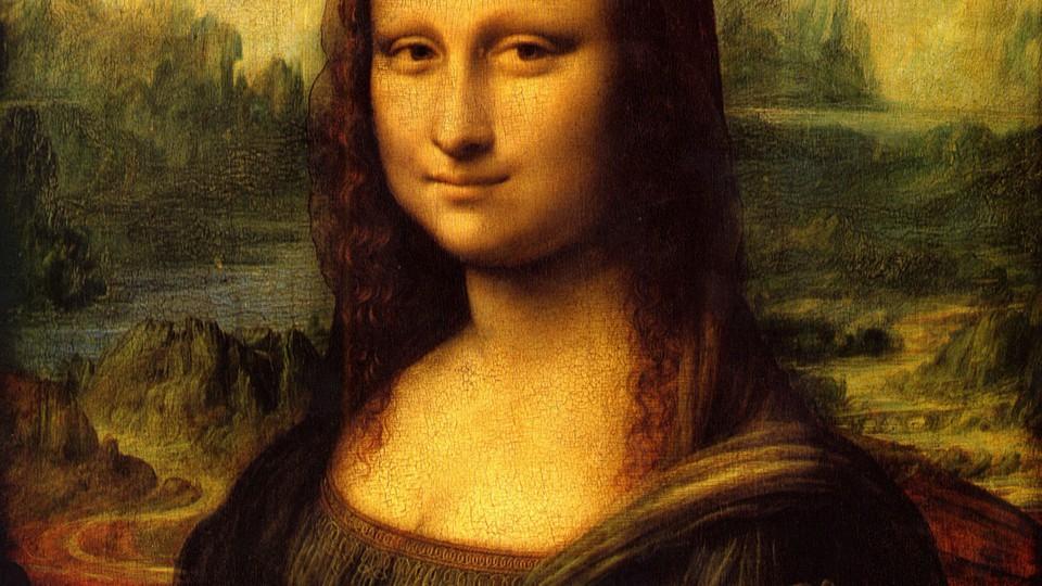 Гениальность картин Леонардо…