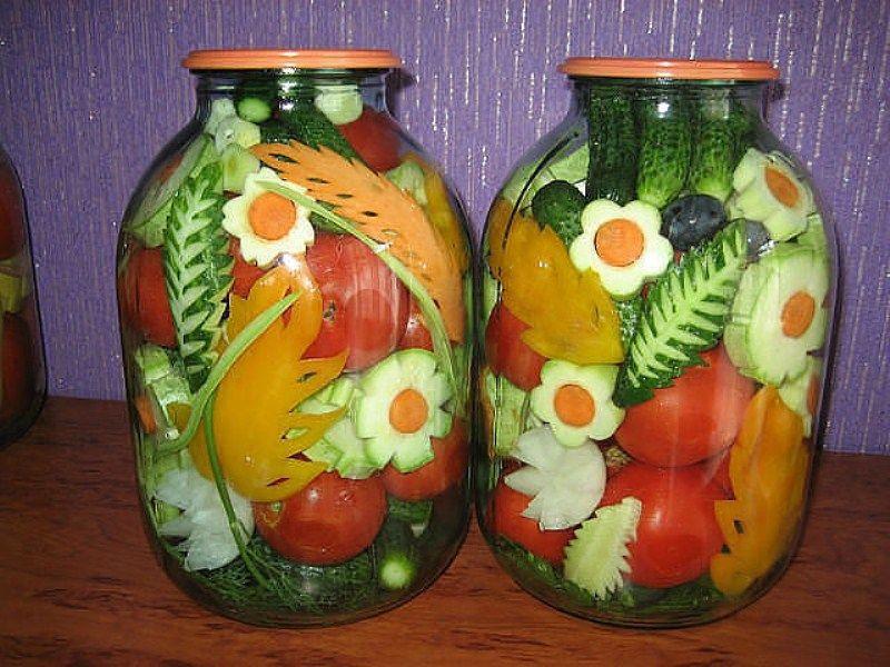 овощи, креатив