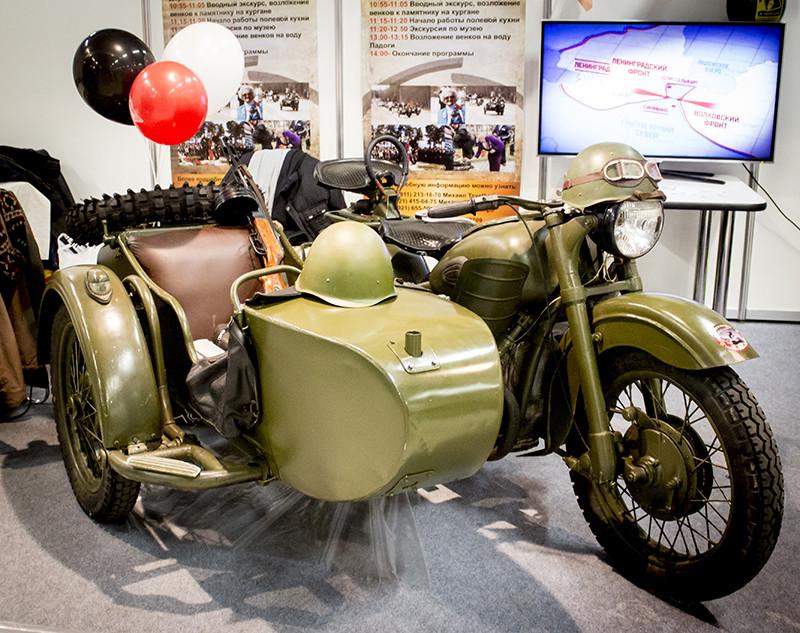 Российские мотоциклы как культ в США