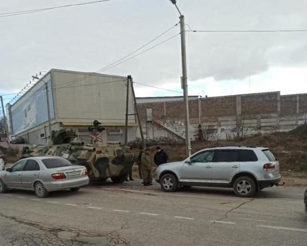 В Севастополе произошло ДТП …