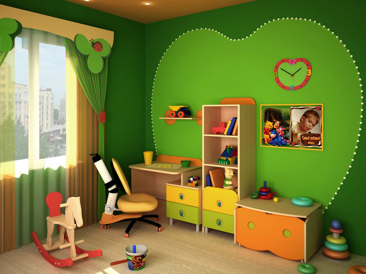 Оформления комнаты ребёнка своими руками фото