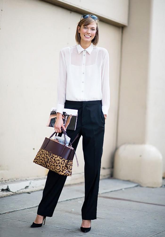 Модные брюки сезона весна-ле…