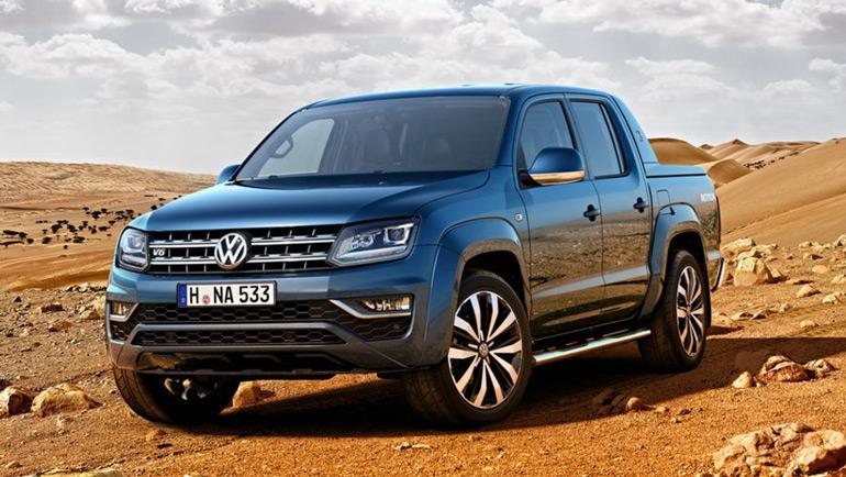 Volkswagen отзывает почти 150 пикапов Amarok в России